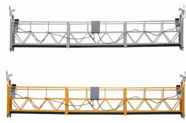 208 V / 60HZ สามเฟส 100 เมตร, 150 เมตร, 200 เมตร ฯลฯ อลูมิเนียมอัลลอย ZLP630 แท่นวางแบบ Suspended Cradle