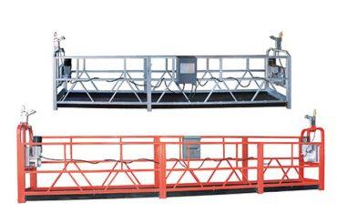 การบำรุงรักษาอาคารสูงอาคารหน้าต่างทำความสะอาด Suspended Work Platform ZLP630