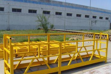 แพลตฟอร์มทำความสะอาดหน้าต่างอาคารสูง ZLP 800 300M 2.5M * 3 1.8KW 800KG