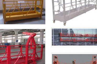 800 kg ทาสี / ร้อนชุบสังกะสี / อลูมิเนียมสัมบูรณ์ระงับการเข้าถึงอุปกรณ์ zlp800