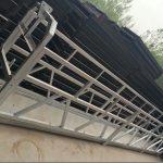 อลูมิเนียมอลูมิเนียม zlp630 / 800 อลูมิเนียมโครงสร้างเหล็กระงับเพลายกทำงานบนหน้าต่างอาคาร