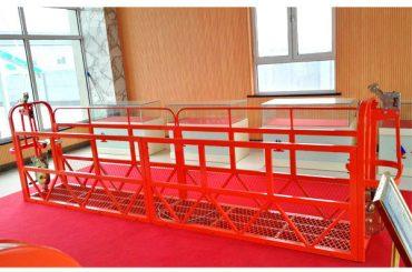 เหล็กกล้าที่ถูกระงับการเข้าถึง Platforms 7.5m 1.8kw 800kg Building Maintenance