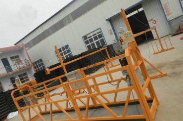เชื่อถือได้ ZLP630 จิตรกรรมเหล็ก Suspended แพลตฟอร์มทำงานสำหรับการก่อสร้างอาคาร (2)