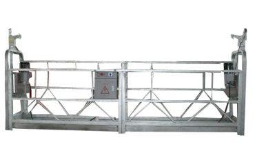 เชือกความปลอดภัยเคลื่อนย้ายได้ระวางแพลตฟอร์ม zlp500 ที่มีกำลังการผลิตสูงสุด 500 กิโลกรัม